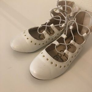 Lot of 2 pairs girls shoes and dress